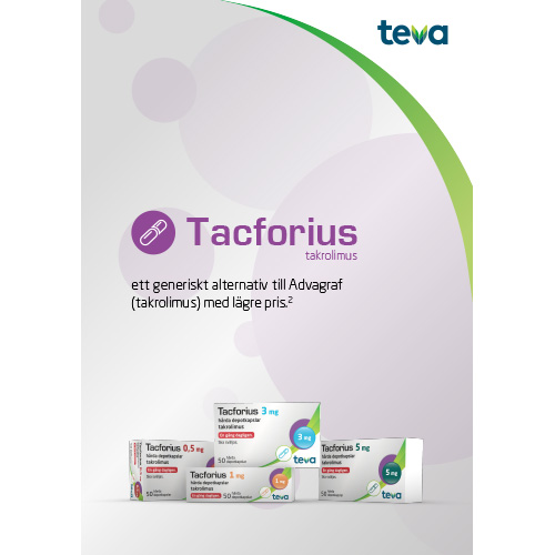 Patientinformation Tacforius